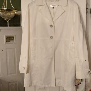 White Lightweight Trench